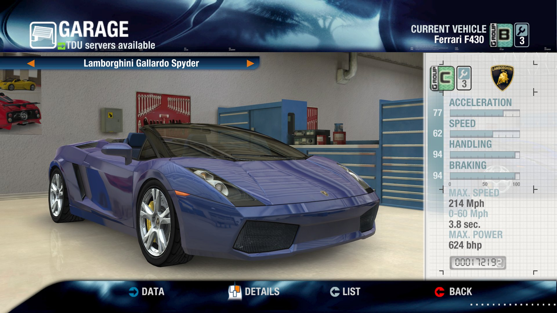 "Lambo Gallaro Spyder for ""all"